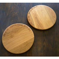 Personalised Lazy Susan Serving Board
