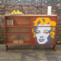 When Nathan Met Marilyn Mid Century Drinks Cabinet