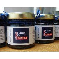 Personalised Corporate Mini Jam Jars