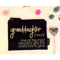 Granddaughter Make Up Bag