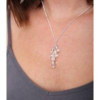 Crystal Quartz Lariat Necklace