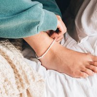 Kai Pearl Beaded Anklet