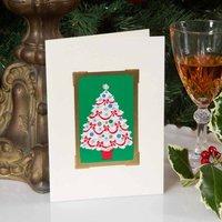 Vintage Tree Christmas Card