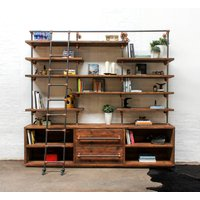 Bos Bespoke Shelving Unit With Drawers