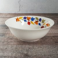 Falling Leaves Cereal Bowls