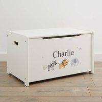 Personalised Jungle Design Toy Box