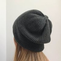 Ladies Knitted Winter Slouch Hat
