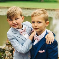 Children's Wedding Knitted Bow Tie Collection