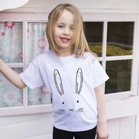 Children's Bunny Face T Shirt