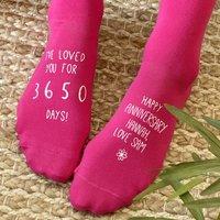 How Long I Have Loved You Socks