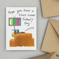 'Snore Some' Funny Father's Day Card