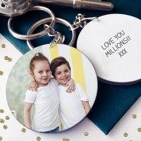 Nanny's / Grandma's Photo Message Keyring