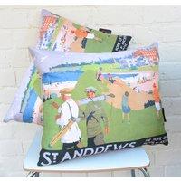 St Andrews Golf Cushion