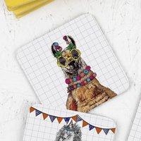 Party Llama Drinks Coaster