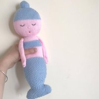 Little Mermaid And Big Octopus Knitting Patterns