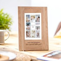 Personalised Framed Photo Collage Print