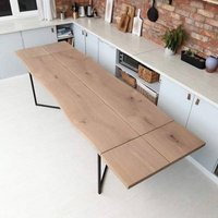 Infinity Extendable Solid Oak Dining Table