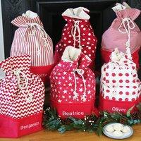 Luxury Personalised Christmas Santa Sack