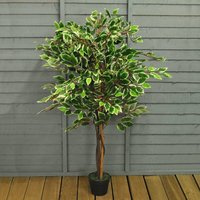 Artificial Ficus Fig Topiary Tree