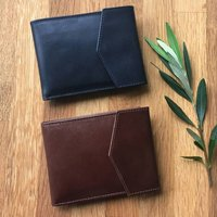 Leather Wallet With Rfid Potected