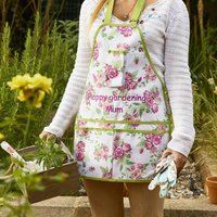 Personalised Gardening Apron, Tools And Gloves Set
