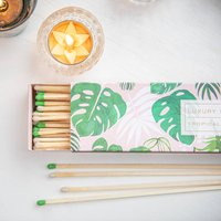 Palm Leaf Design Extra Long Matches