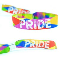 Gay Pride Wristbands Lbgt Rainbow Pride Accessories