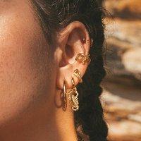 Scorpion Huggie Hoop Single Earring