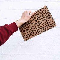 Animal Pattern Clutch Bag