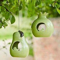 Ceramic Bird Feeder