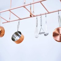 Hanging Pot And Pan Ladder Rack