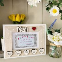 Personalised Nan Photo Frame Mother's Day