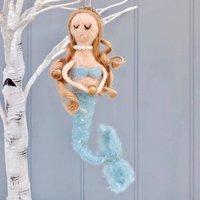 Decoration Felt Mermaid