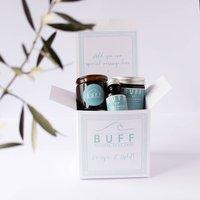 Up Energise And Uplift Pamper Gift Box, White/Black