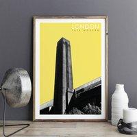 London Wall Art Prints Tate Modern