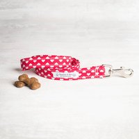 Red Heart Dog Lead/Leash For Girls Or Boys