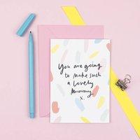 'Lovely Mummy' New Mum Card