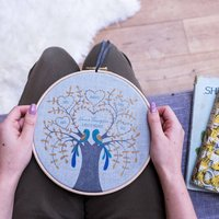 Personalised Your Family Tree Hoop