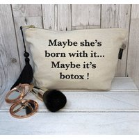 Slogan Make Up Bags