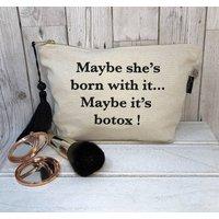 Slogan Make Up Bags