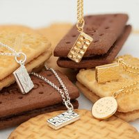 Biscuit Necklace With Personalised Message