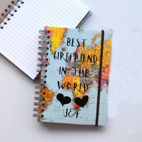 Best In The World Personalised Notebook