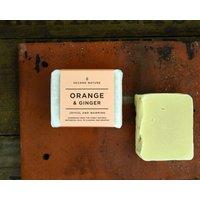 Orange And Ginger Handmade Soap