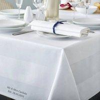 Personalised Premium Cotton Table Cloth