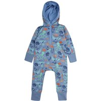 Upcycled Hooded Playsuit For Baby