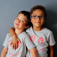 Neon Eyes Kids Tshirt