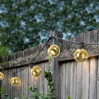 LED Gold Indoor Outdoor Festoon Lights