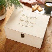 Personalised Birthday Gift Keepsake Box