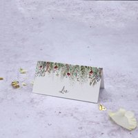 'Whimsical Noel' Wedding Place Cards