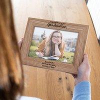Personalised Graduation Photo Frame Gift